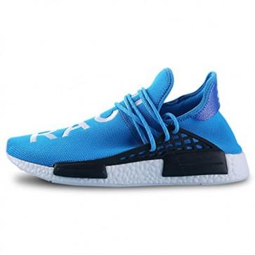 Zapatillas para hombre Adidas yeezy race pharrell williams azul/blanco_084