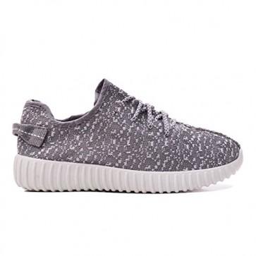 Zapatillas para mujer Adidas yeezy kanye inspirado gris_086