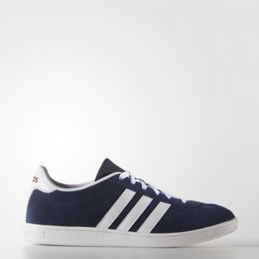 Zapatillas Adidas para hombre vl court collegiate navy/footwear blanco/power rojo F99260-024