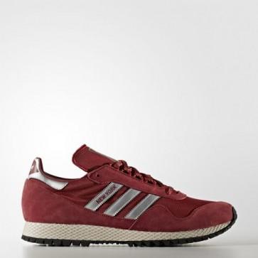 Zapatillas Adidas para hombre new york collegiate burgundy/matte silver/mystery rojo BB1189-036