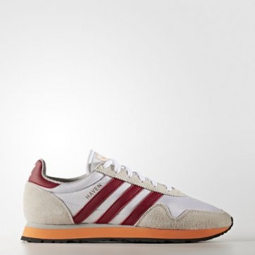 Zapatillas Adidas para hombre haven footwear blanco/collegiate burgundy/easy naranja BB2737-037