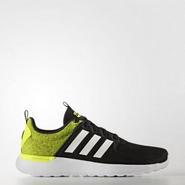 Zapatillas Adidas para hombre cloudfoam lite racer core negro/footwear blanco/solar amarillo AW4030-042