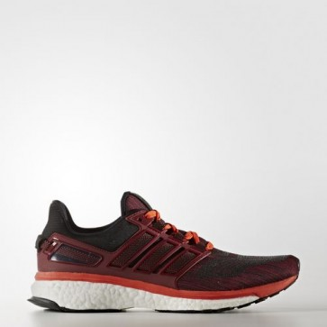 Zapatillas Adidas para hombre energy boost 3 collegiate burgundy/energy/core negro BB5788-047