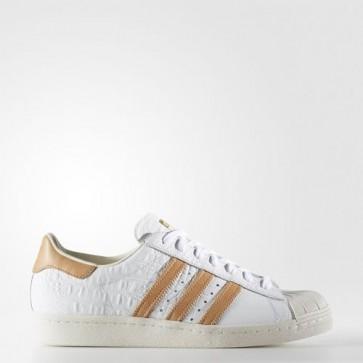 Zapatillas Adidas para hombre super star 80s footwear blanco/gold metallic BB2229-050