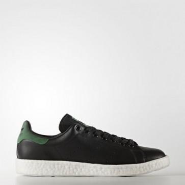 Zapatillas Adidas para hombre stan smith core negro/verde BB0009-073
