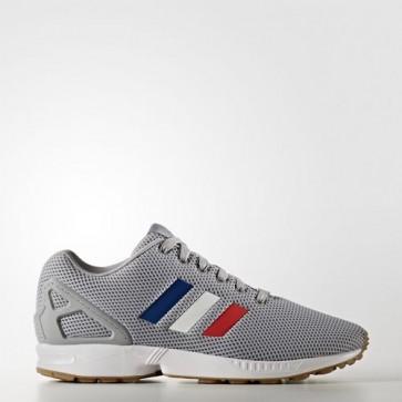 Zapatillas Adidas para hombre zx flux mid gris/footwear blanco/core rojo BB2768-087