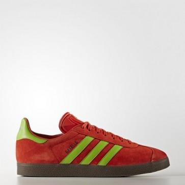 Zapatillas Adidas para hombre gazelle core rojo/semi solar verde/gum BB5263-091