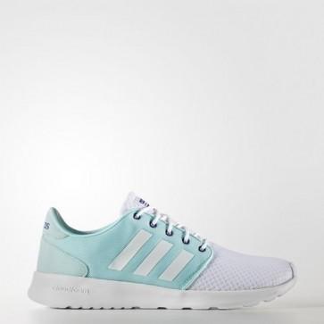 Zapatillas Adidas para mujer cloudfoam qt racer footwear blanco/unity ink AW4006-163
