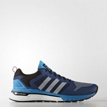 Zapatillas Adidas para hombre cloudfoam super flyer mystery azul/core negro/solar azul AW4161-105