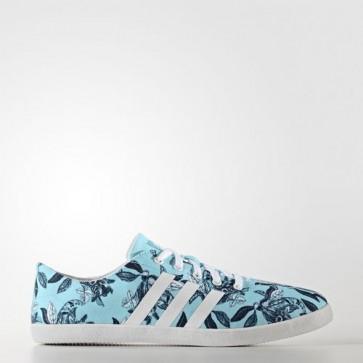 Zapatillas Adidas para mujer cloudfoam qt vulc clear aqua/footwear blanco/collegiate navy B74584-191