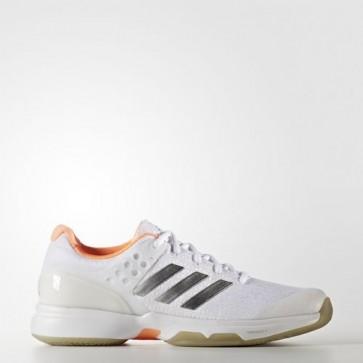 Zapatillas Adidas para mujer zero ubersonic 2.0 footwear blanco/silver metallic/glow naranja BB4811-200