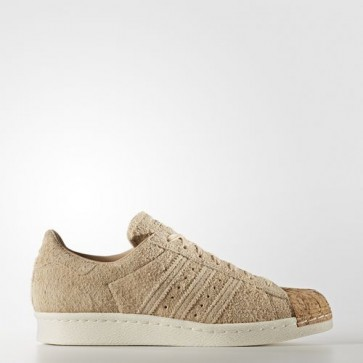 Zapatillas Adidas para mujer super star 80s pale nude/off blanco BY2962-201