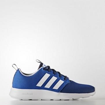 Zapatillas Adidas para hombre cloudfoam swift racer collegiate navy/footwear blanco/azul AW4155-109