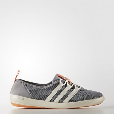 Zapatillas Adidas para mujer terrex climacool sleek mid gris/chalk blanco/easy naranja BB1922-235