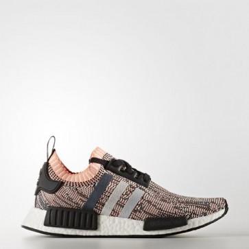 Zapatillas Adidas para mujer nmd_r1 core negro/clear onix/sun glow BB2361-255
