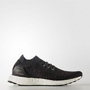 Zapatillas Adidas para mujer ultra boost uncaged core negro/dark gris/easy verde BA9796-275