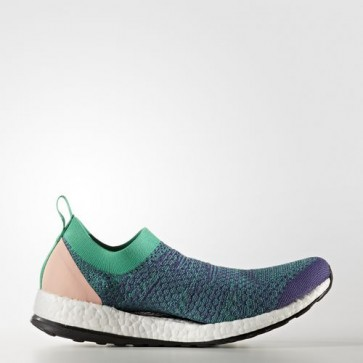 Zapatillas Adidas para mujer pure boost x plum/core verde/cream blanco BY1970-285