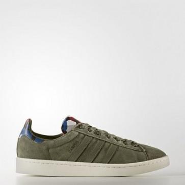 Zapatillas Adidas para hombre campus olive cargo/core azul BB0077-116