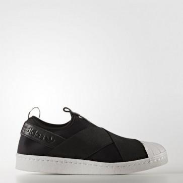Zapatillas Adidas para mujer super star slip-on core negro/footwear blanco S81337-298