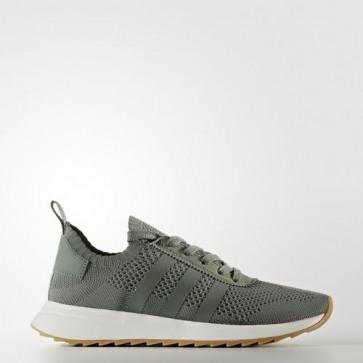 Zapatillas Adidas para mujer primeknit flb trace verde/crystal blanco BY2798-302