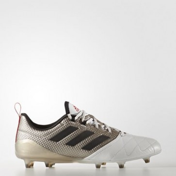 Zapatillas Adidas para mujer ace 17.1 césped natural platin metallic/core negro/core rojo BA8554-335