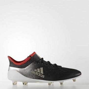 Zapatillas Adidas para mujer x 17.1 césped natural core negro/platin metallic/core rojo BA8561-340