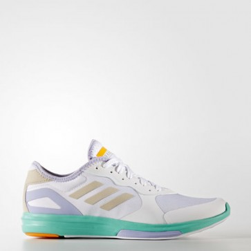 Zapatillas Adidas para mujer yvori footwear blanco/radiant aqua/dust violeta BB4962-369