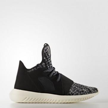Zapatillas Adidas para mujer tubular defiant core negro/chalk blanco BB5122-384