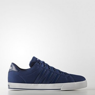 Zapatillas Adidas para hombre daily mystery azul/footwear blanco B74473-127