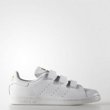 Zapatillas Adidas unisex stan smith footwear blanco/gold metallic S75188-050