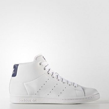 Zapatillas Adidas unisex stan smith footwear blanco/dark azul BB0070-082