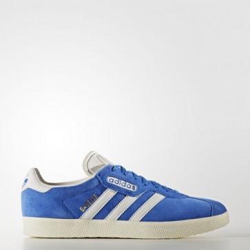 Zapatillas Adidas unisex gazelle azul/vintage blanco/gold metallic BB5241-099