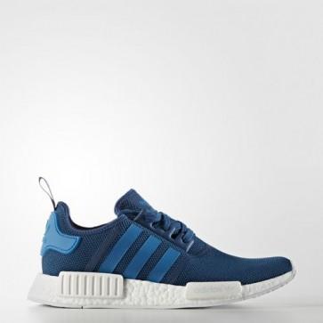 Zapatillas Adidas unisex nmd_r1 tech steel/unity azul/ blanco S31502-134