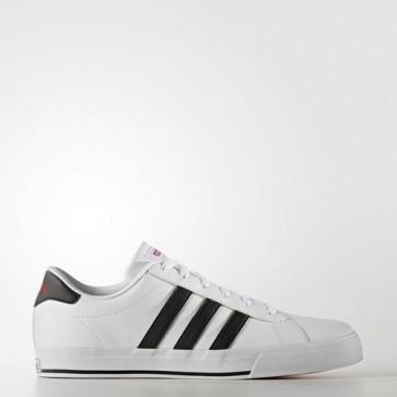 Zapatillas Adidas para hombre daily footwear blanco/core negro/scarlet B74478-163