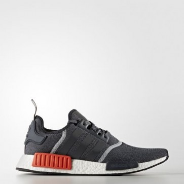 Zapatillas Adidas unisex nmd_r1 dark gris/dark gris/semi solar rojo S31510-137