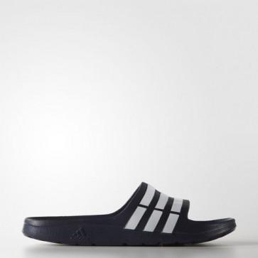 Zapatillas Adidas unisex chancla duramo dark azul/blanco G15892-150