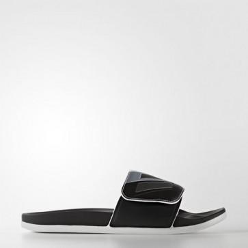 Zapatillas Adidas unisex chancla lette cloudfoam plus core negro/iron metallic/footwear blanco S80344-151