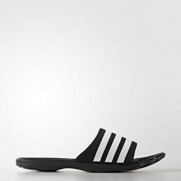 Zapatillas Adidas unisex chancla pure cloudfoam core negro/footwear blanco/clear gris AQ3936-156