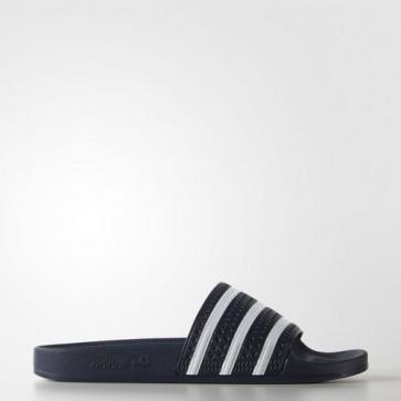 Zapatillas Adidas unisex chanclas lette adiazul/blanco 288022-171