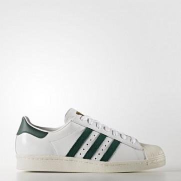 Zapatillas Adidas unisex super star 80s footwear blanco/collegiate verde/gold metallic BB2230-180
