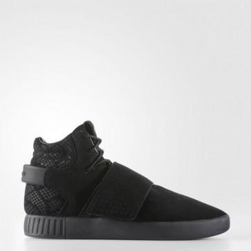 Zapatillas Adidas unisex tubular invader core negro/utility negro BB8392-191