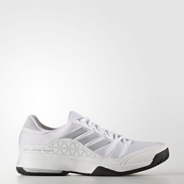 Zapatillas Adidas para hombre barrica court footwear blanco/clear onix/core negro BB3325-181