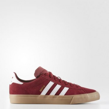 Zapatillas Adidas para hombre campus vulc2.0 collegiate burgundy/footwear blanco/gum BB8523-198