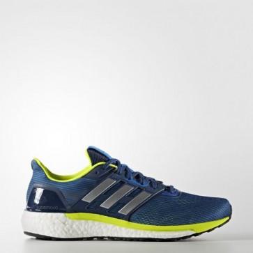 Zapatillas Adidas para hombre super nova azul/silver metallic/solar amarillo BB6037-222