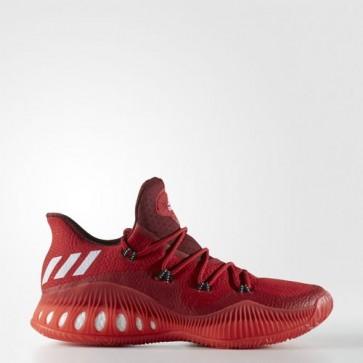 Zapatillas Adidas para hombre crazy explosive low primeknit scarlet/medium gris/collegiate burgundy BB8366-304