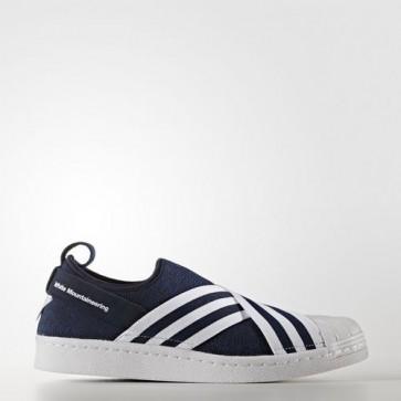 Zapatillas Adidas para hombre primeknit superstar collegiate navy/ftwr blanco/ftwr blanco BY2879-366