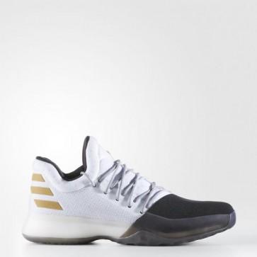 Zapatillas Adidas para hombre harden vol.1 footwear blanco/core negro/gold metallic BW0552-373