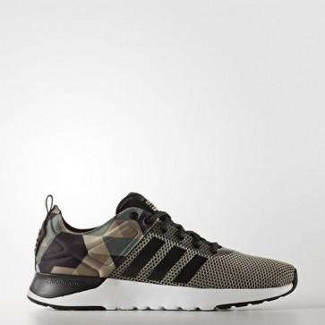 Zapatillas Adidas para hombre cloudfoam super racer trace verde/core negro/cargo khaki AW4165-379