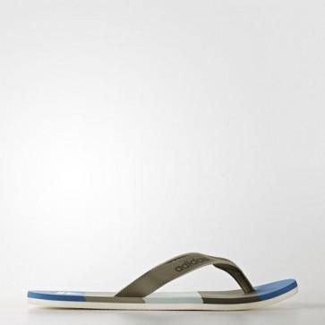 Zapatillas Adidas para hombre chancla eezay trace cargo/core azul/tactile verde BA8809-416
