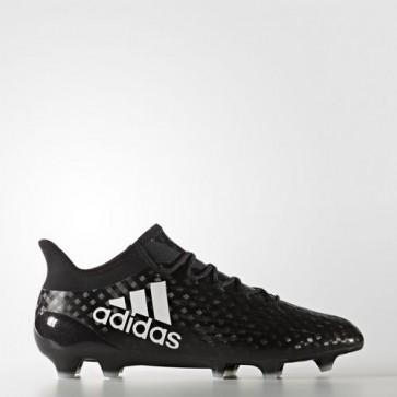 Zapatillas Adidas para hombre x 16.1 césped natural core negro/footwear blanco BB5620-433